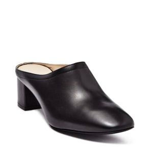 EVERLANE The Day Heel Mule Black Leather Italy